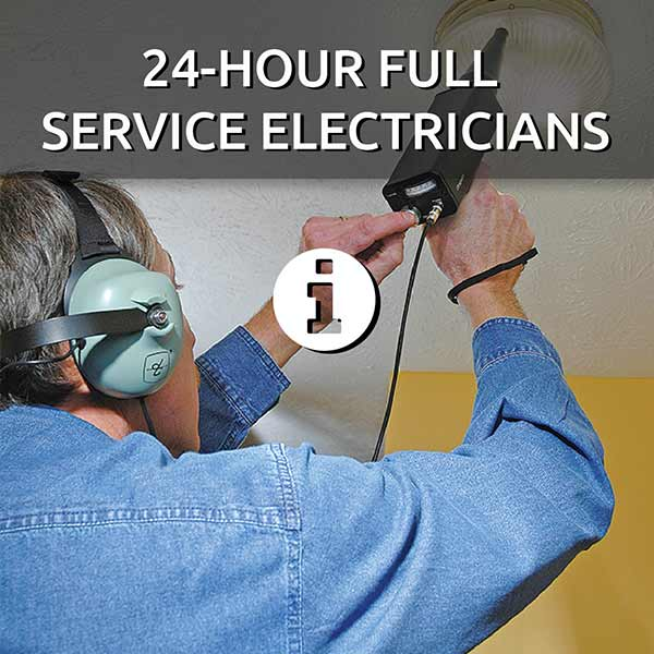 24-hour full service electricians